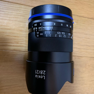 Loxia 21mm f2.8 美品 カールツァイス Eマウント