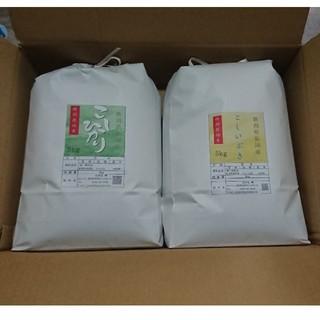 新潟米🍚食べ比べセット コシヒカリ&こしいぶき