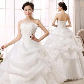 ウエディングドレス 司会者 二次会 ステージドレス スカイブルー 結婚式