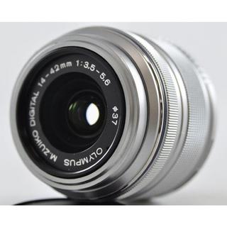 オリンパス(OLYMPUS)のM.ZUIKO DIGITAL 14-42mm F3.5-5.6 II R(レンズ(ズーム))
