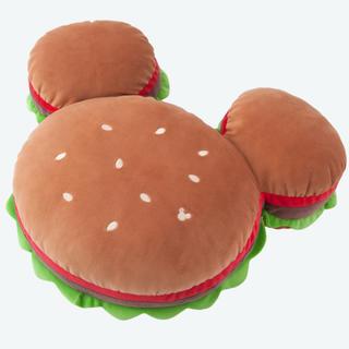 大人気♡ 新品 ミッキー ハンバーガー クッション ディズニーリゾート