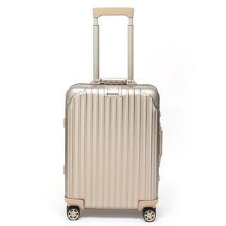 リモワ(RIMOWA)のリモワ トパーズ チタニウム 923.53.03.4 34リットル 4輪(トラベルバッグ/スーツケース)