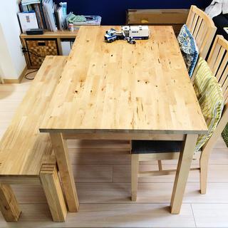 IKEA - 【並品】IKEA_ダイニングテーブル & ダイニングチェア
