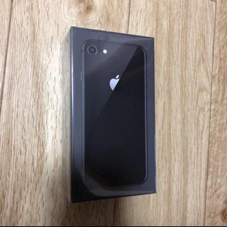 アイフォーン(iPhone)の新品 未開封 iPhone8 64GB SIMロック解除不可(スマートフォン本体)