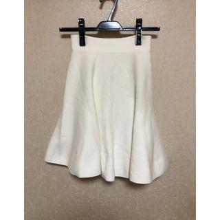 アンドクチュール(And Couture)のアンドクチュール/And Couture のニットのフレアスカート(ひざ丈スカート)
