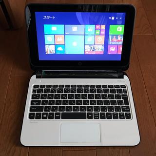 ヒューレットパッカード(HP)の【美品】HP Pavillion10 Touchsmart Office付き(ノートPC)