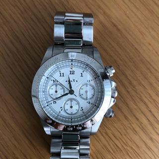アガット(agete)のageteメンズ時計シルバーホワイト系ユニセックス(腕時計(アナログ))