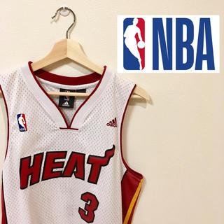 アディダス(adidas)のNBA マイアミヒート ユニフォーム(バスケットボール)