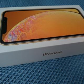 アイフォーン(iPhone)の 新品 simフリー iphone XR 128GB イエロー iPhonexr(スマートフォン本体)