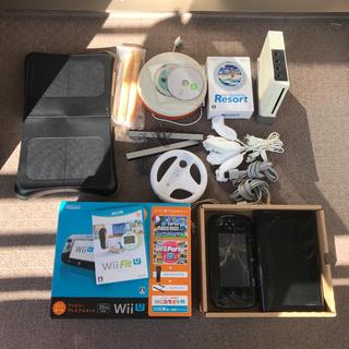 ウィーユー(Wii U)のWIIUとおまけたくさん(家庭用ゲーム本体)