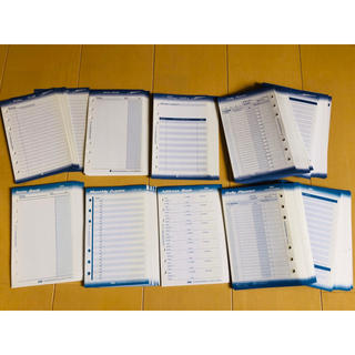 フランクリンプランナー(Franklin Planner)のフランクリン手帳リフィル(カレンダー/スケジュール)