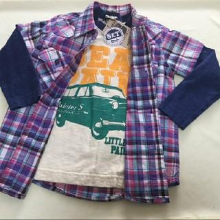 リトルベアークラブ(LITTLE BEAR CLUB)の未使用 リトルベアクラブ 110 ロンT シャツセット(Tシャツ/カットソー)