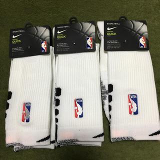 ナイキ(NIKE)の[新品]ナイキ NBA バスケ ソックス 3足セット(ソックス)