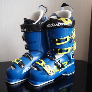 ノルディカ(NORDICA)のノルディカ(NORDICA)スキーブーツ GPX100 BLUE-YELLOW(ブーツ)