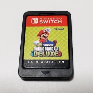 Nintendo Switch - 任天堂Switchソフト スーパーマリオブラザーズUデラックス