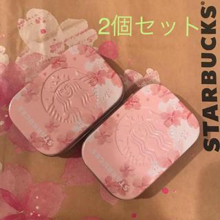 スターバックスコーヒー(Starbucks Coffee)のスターバックス アフターコーヒーミント(SAKURAFUL)2点(小物入れ)