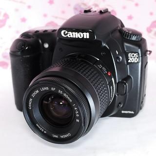 キヤノン(Canon)の❤超定番の一眼レフ&Wi-Fi変更OK❤️ Canon キャノン EOS 20D(デジタル一眼)