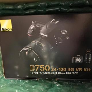 Nikon - Nikon D750 24-120 4G kit ニコンダイレクト 3年保証