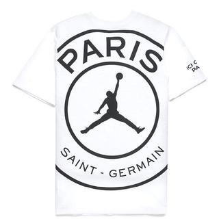 ナイキ(NIKE)の込 L Jordan PSG パリ サンジェルマン T TEE シャツ 即発送(Tシャツ/カットソー(半袖/袖なし))
