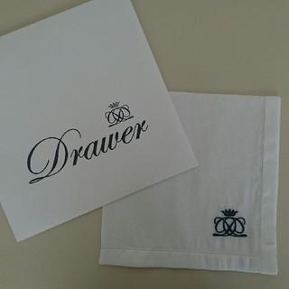 ドゥロワー(Drawer)のDrawer ドゥロワー日本橋店オープン記念 ノベルティ ブランドロゴハンカチ(その他)
