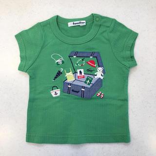 ファミリア(familiar)のファミリア♡半袖 Tシャツ 80★トップス(Tシャツ)