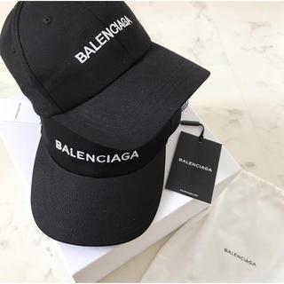 Balenciaga - BALENCIAGA  キャップ ロゴ 帽子