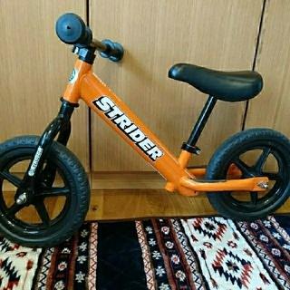 ストライダー  オレンジ(自転車)