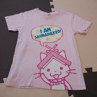 ユニクロ(UNIQLO)の【110】ユニクロ しまねっこTシャツ(Tシャツ/カットソー)