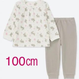 ユニクロ(UNIQLO)の新品♡ ユニクロ 100 フリースパジャマ(パジャマ)