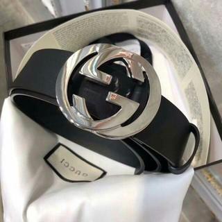 グッチ(Gucci)のGUCCI CWC1N GGグッチベルト黒 新品(ベルト)