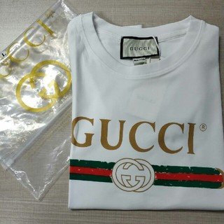 Gucci - グッチTシャツ 白い 新品 M