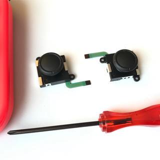 ニンテンドースイッチ(Nintendo Switch)のニンテンドースイッチ  ジョイコン アナログ スティック2個 修理用パーツ(家庭用ゲーム本体)