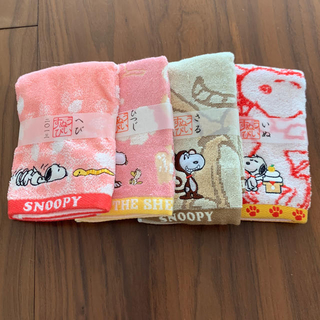 SNOOPY - スヌーピー 干支タオル ランチマット 5点セット