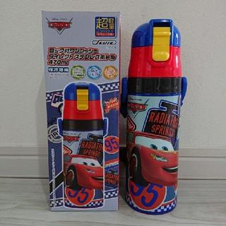 ディズニー(Disney)の新品 カーズ ワンプッシュダイレクトステンレスボトル 470ml(水筒)