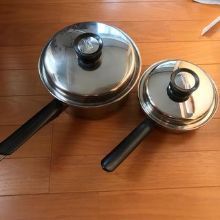 アムウェイ(Amway)のアムウェイ 大ソースパン 小ソースパン(鍋/フライパン)