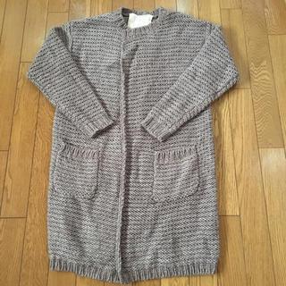 アイアムアイ(I am I)の新品同様 フィグロンドンの手編み風アルパカ入りロングカーディガン(カーディガン)