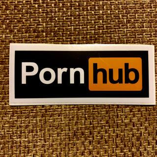 porn hub ポルノハブ ポーンハブ シール ロゴ ステッカー (その他)