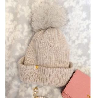 CA4LA - CA4LA💗ふわふわファーニット帽