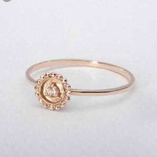 オーロラグラン(AURORA GRAN)のオーロラグラン k10 リング 11号 カマラリング 10金 ダイヤモンド(リング(指輪))