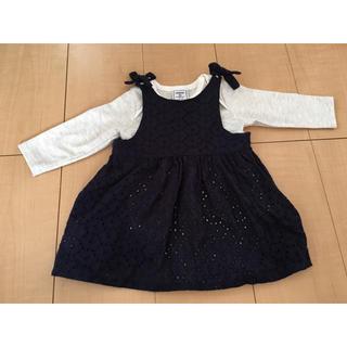 シマムラ(しまむら)のベビー服(ワンピース)