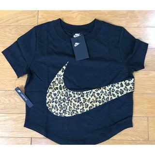 ナイキ(NIKE)のNIKE AS W NSW TOP SS  ANML (BLACK)(Tシャツ(半袖/袖なし))