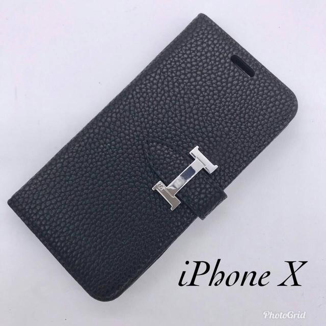 訳あり☆NoaHsarK☆iPhone X IPX-013 ブラックの通販 by ゆき's shop|ラクマ