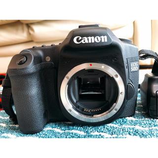 キヤノン(Canon)のcanon EOS 50D ボディ プラスおまけ(デジタル一眼)