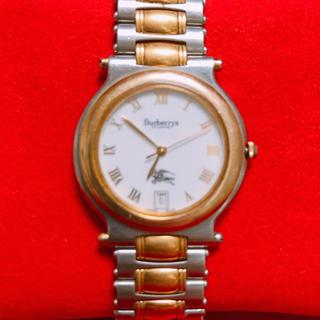 バーバリー(BURBERRY)の【バーバリー】メンズ腕時計(金属ベルト)