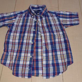 ラルフローレン(Ralph Lauren)のラルフローレン 男児 Yシャツ チェック(ブラウス)