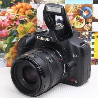 キヤノン(Canon)の❤️初心者に大人気のイオス❤️EOS kiss x2 レンズセット❤️(デジタル一眼)