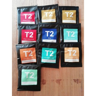 T2 紅茶 10個詰め合わせ(アロマグッズ)