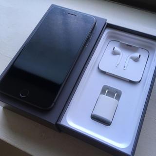 アイフォーン(iPhone)のiPhone8 Plus 本体 256GB スペースグレー ケース付(スマートフォン本体)