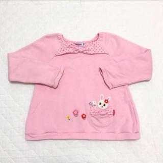 ミキハウス(mikihouse)のミキハウス トレーナー 110サイズ(Tシャツ/カットソー)
