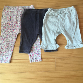 ユニクロ(UNIQLO)のユニクロ レギンス まとめ売り 80(パンツ)